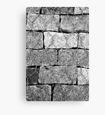 Brick Wire Canvas Print