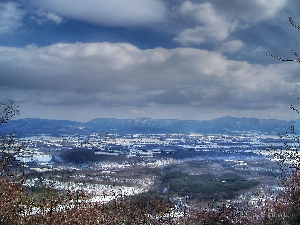 Shenandoah Snow by James Brotherton