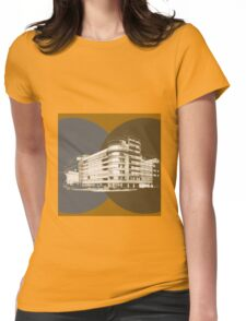 constructivism architecture Womens Fitted T-Shirt