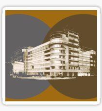 constructivism architecture Sticker