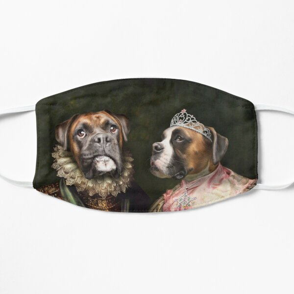 Boxer Dog Portrait - Ruby and Steve Mask