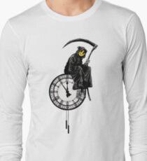 Banksy - Grinsen Reaper Langarmshirt