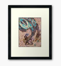 BUTTERFLY ~ 63 WING UP WING DOWN Framed Print