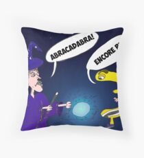 News Options Binaires Euro Abracadabra Throw Pillow