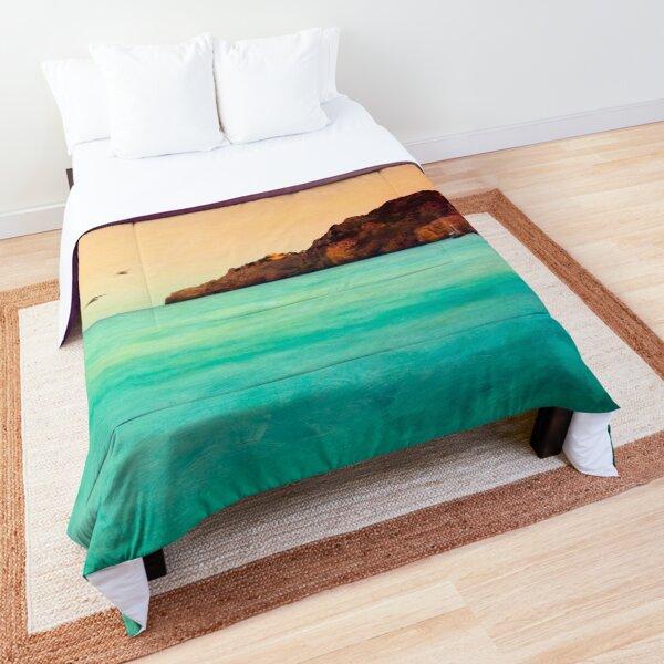 Glowing Mediterranean Sea Comforter