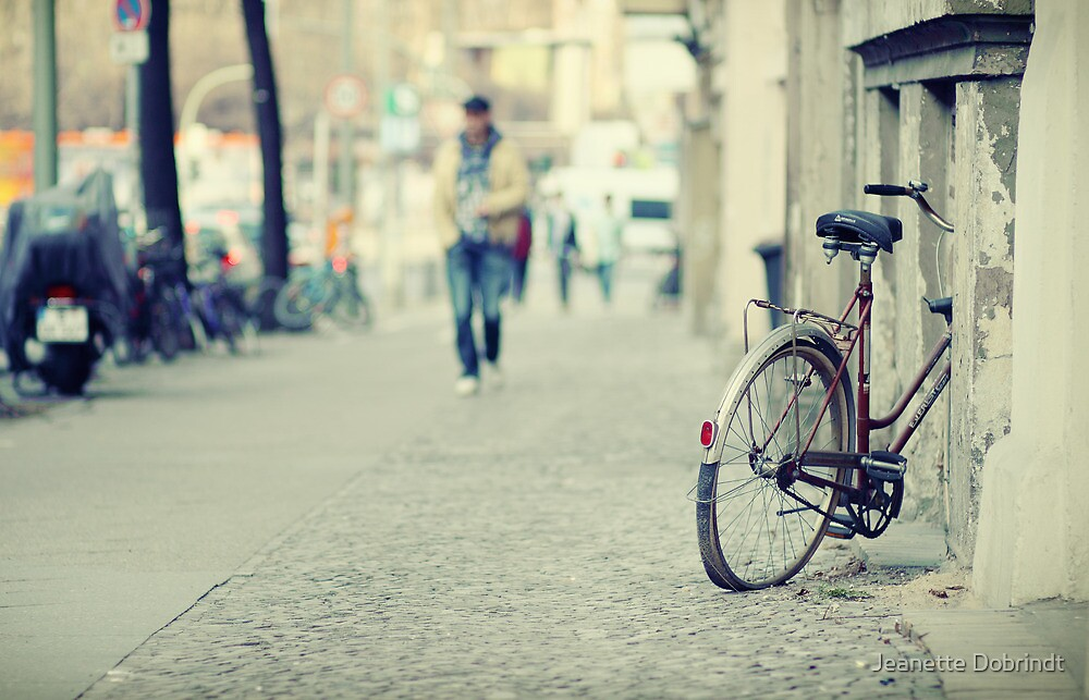 The old bicycle by smilyjay