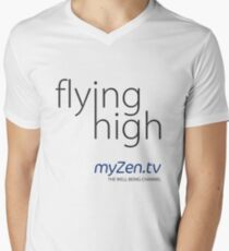 Flying high - Day Mens V-Neck T-Shirt