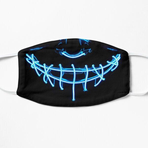 smile led spooky mask Flat Mask