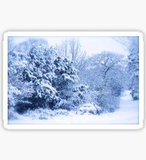 Winters scene  Sticker