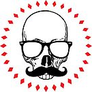 Hipster magic skull by Bittenbydesign