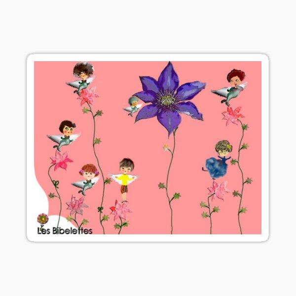 Les fleuries Les Bibelettes Sticker