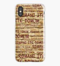 ROMANI ITE DOMUM #2 (iPhone version) iPhone Case/Skin