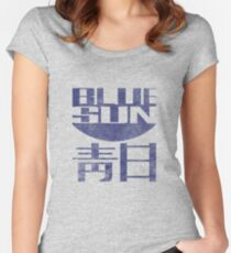 Blue Sun Vintage Style Shirt (Firefly/Serenity) Women's Fitted Scoop T-Shirt