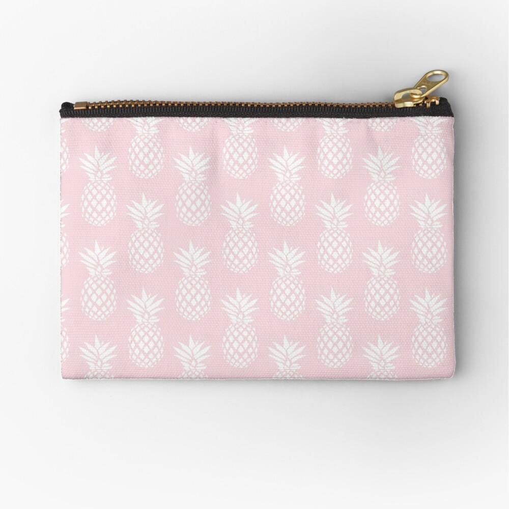 Cute & elegant pineapple pattern Zipper Pouch