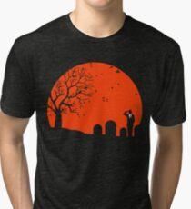 Solid minimalist Tri-blend T-Shirt