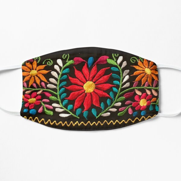 Spanish Flowers Mask