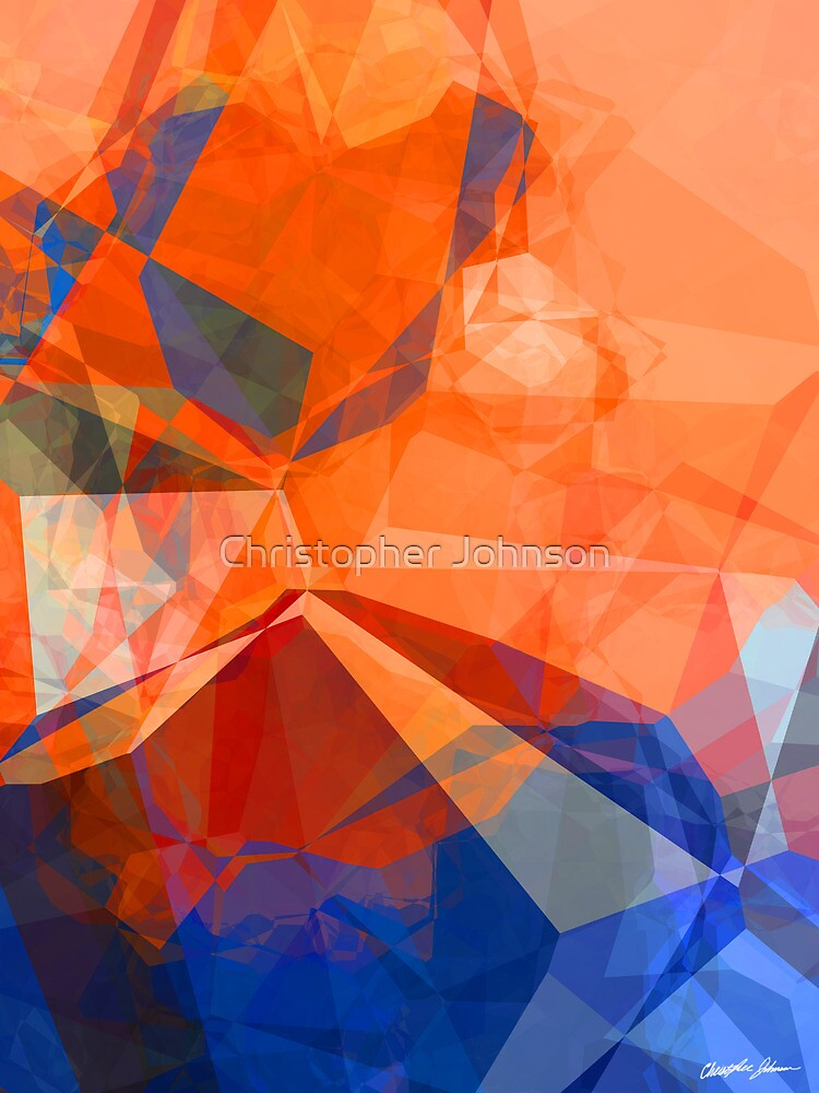 Abstract Polygons 30 by Christopher Johnson