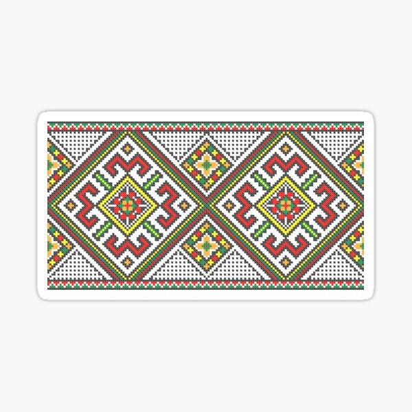 Ukrainian Embroidery Vyshyvanka   Sticker