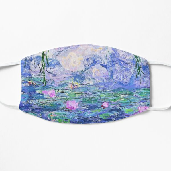 Claude Monet Water Lilies Flat Mask