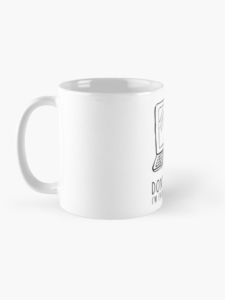Alternate view of I'm from tech support Mug