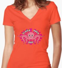 "Fruity Oaty Bar! ""OCTOPUS"" Shirt (Firefly/Serenity) Women's Fitted V-Neck T-Shirt"