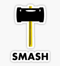 Super Smash Hammer Sticker