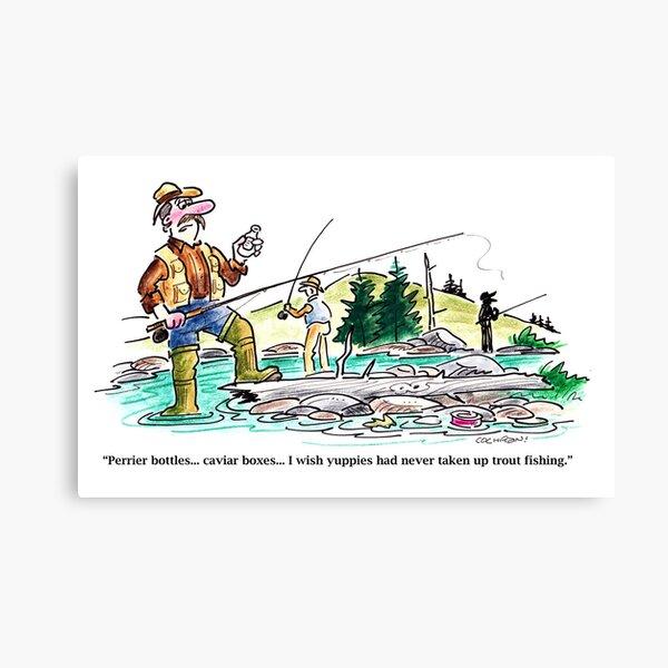 Full color cartoon Canvas Print