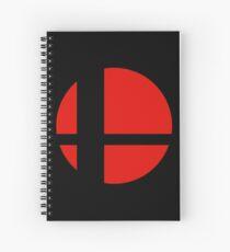 Super Smash Bros Icon Spiral Notebook