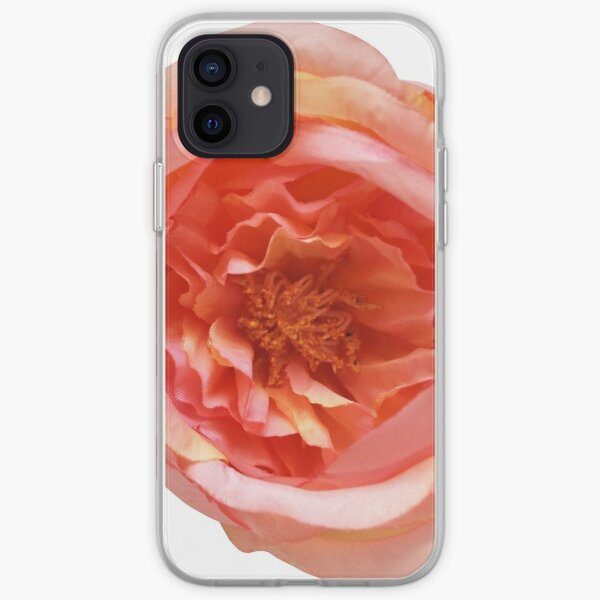 Rose Living Coral iPhone Flexible Hülle