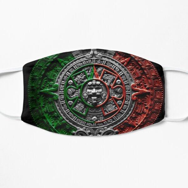aztec calendar mexico chicano Mask