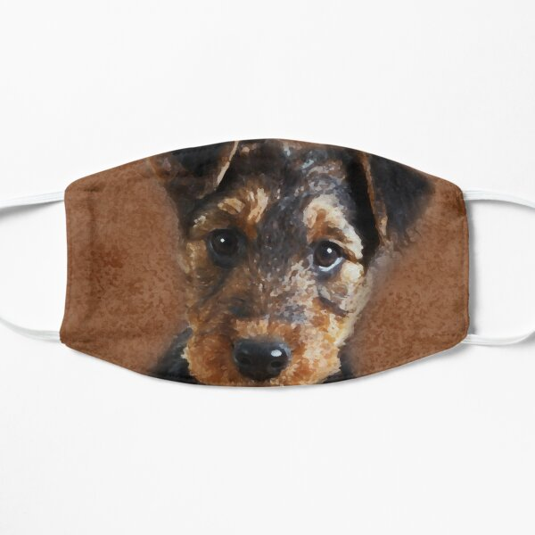 Airedale Terrier Puppy Digital Art Mask