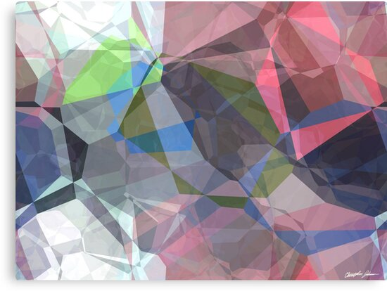 Abstract Polygons 92 by Christopher Johnson