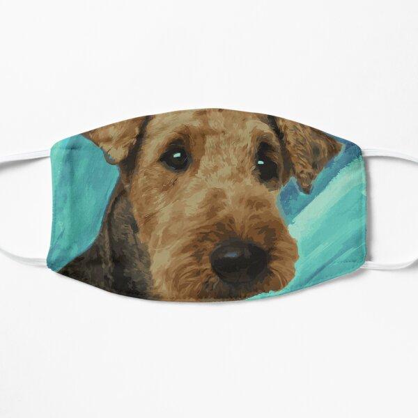 Airedale Terrier Portrait Mask