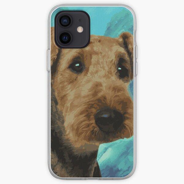 Airedale Terrier Portrait iPhone Soft Case