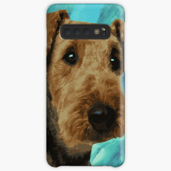 Airedale Terrier Portrait Samsung Galaxy Snap Case