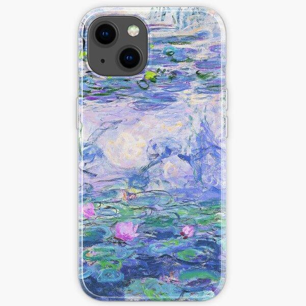 Claude Monet Seerosen iPhone Flexible Hülle