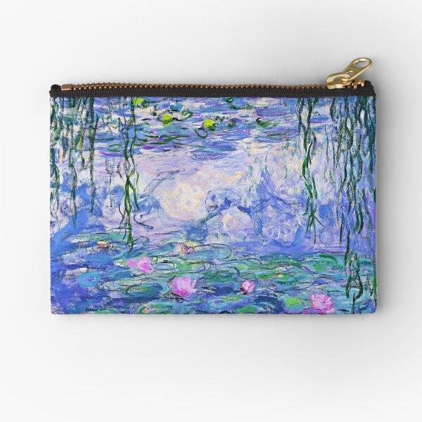Claude Monet Water Lilies Zipper Pouch