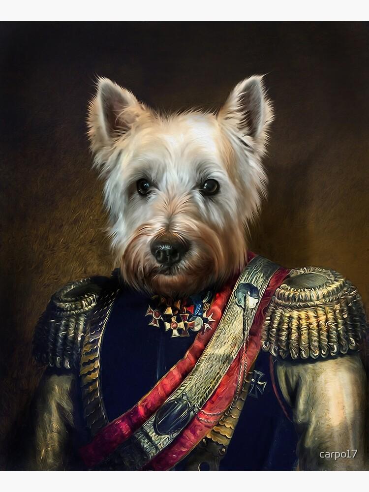 West Highland Dog Portrait - Meatball by carpo17