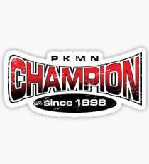 Pokemon Champion_Red Sticker