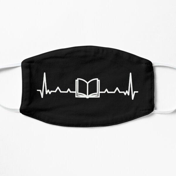 Book Heartbeat Line Mask