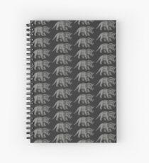 Triceratops dinosaur Spiral Notebook