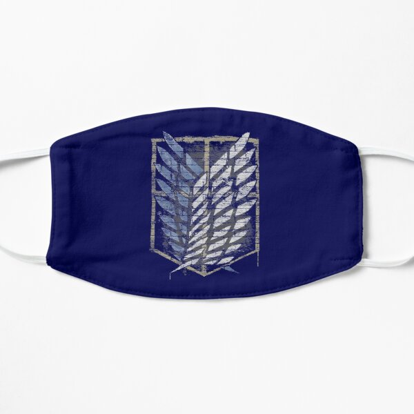 AOT Scout Emblem Graffiti  Flat Mask