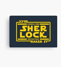 SHER LOCK Canvas Print