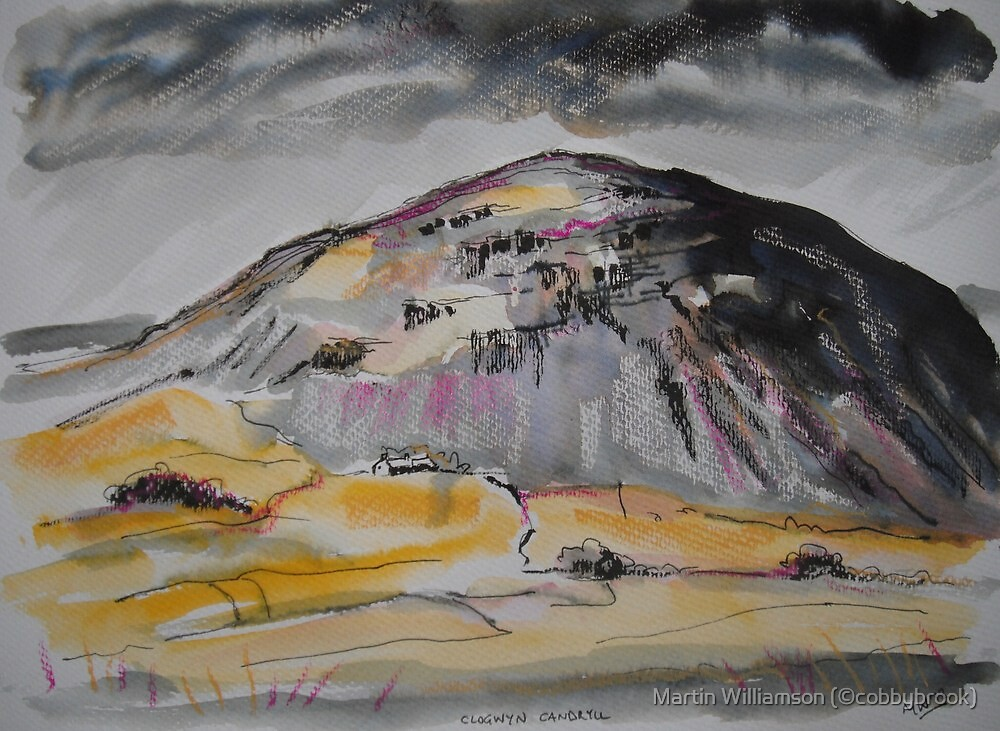 'Clogwyn Candryll' by Martin Williamson (©cobbybrook)