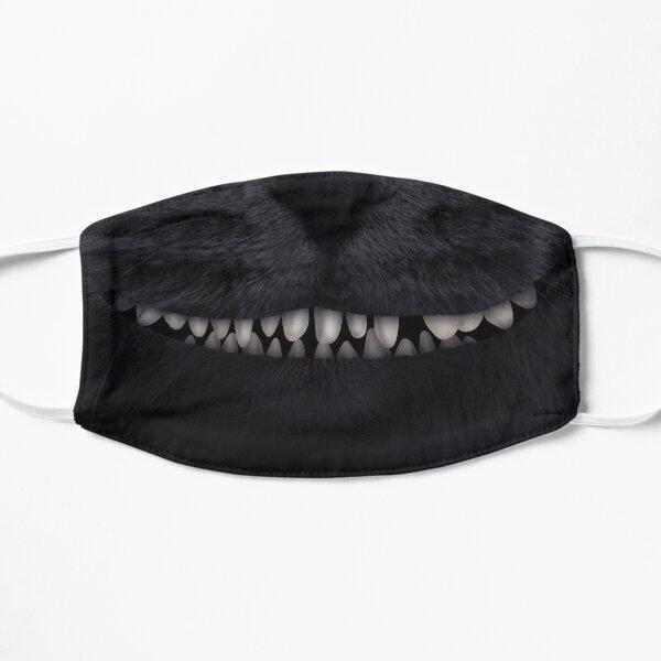 Sourire de chat du Cheshire Masque sans plis