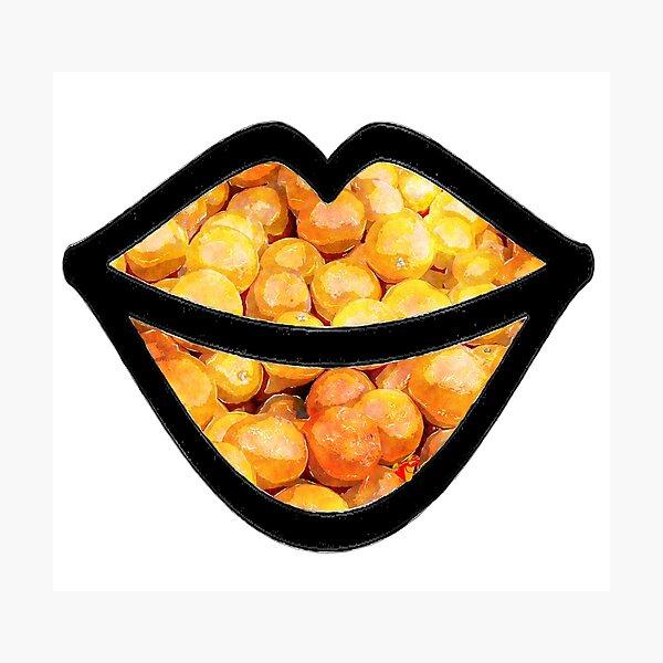 Oranges on the Lips  Photographic Print