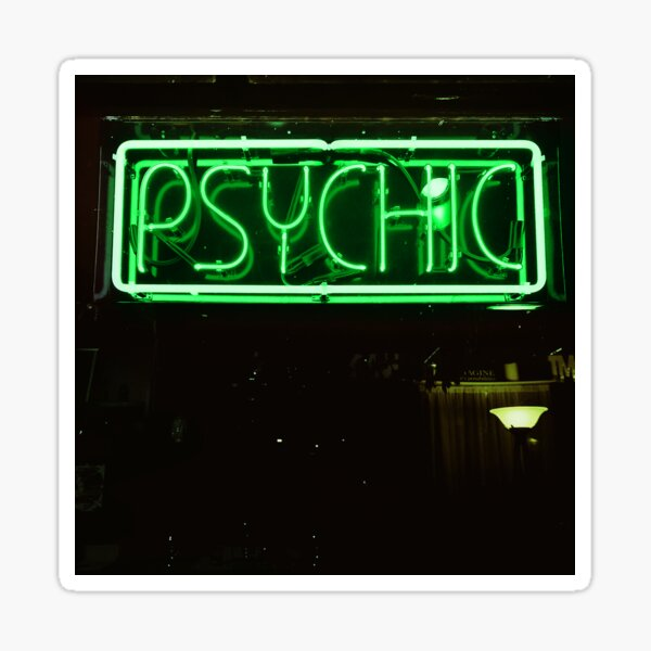 Are You Psychic? Sticker