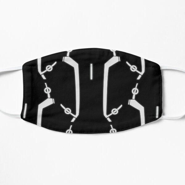Tron Style Flat Mask