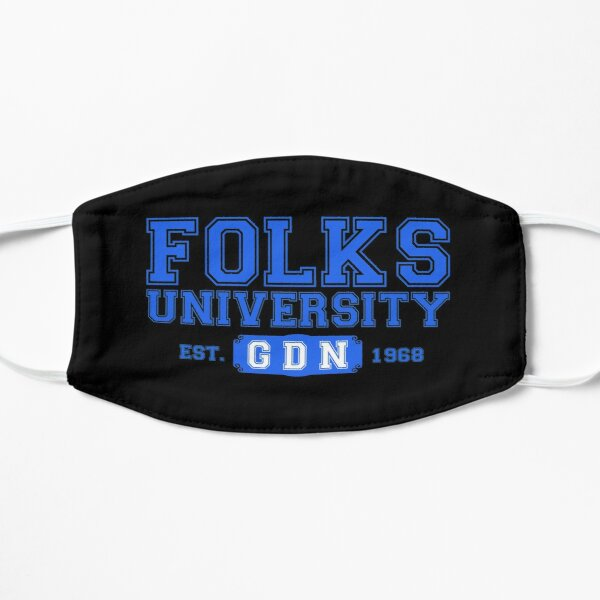 Folks University GDN Flat Mask