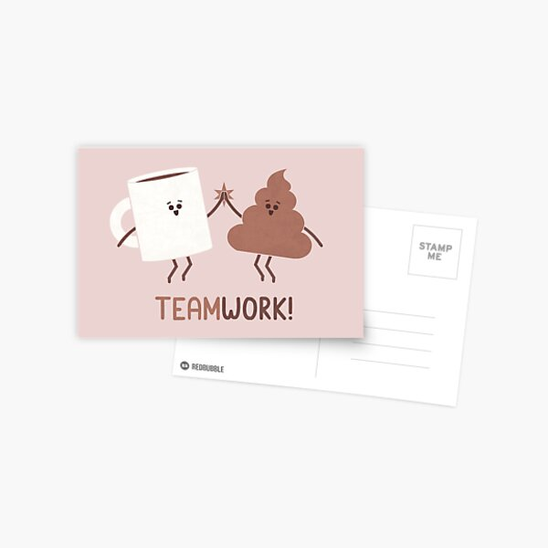 Teamwork Postcard